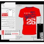 Koszulka z nadrukiem - przykład 1